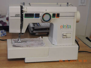 Sewing machine coudre Enita by Elna 220