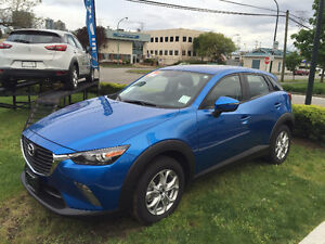 2016 Mazda CX-3 GX with Luxury package, lease transfer