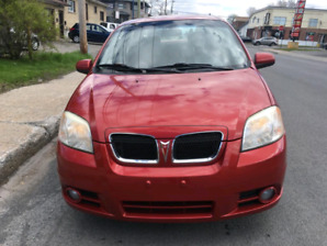 Pontiac wave 2007 Automatic summer and winter tires included