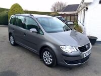 VOLKSWAGEN TOURAN 1.9 TDI, 7 SEATER, 2008 NEW MODEL **FINANCE THIS TODAY FROM £26 PER WEEK**