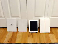 Gold Apple iPad Air 2 64GB With White Apple Smart Cover