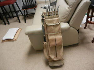 Vintage Hughes Patent pipe organ golf bag