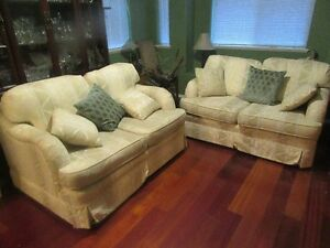 2 Coventry Collection Loveseats