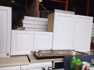 White Cabinets - Individually Priced