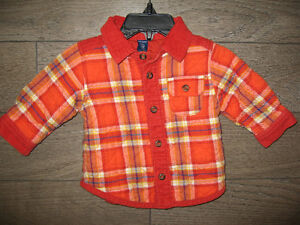 Boy's 3/6 months (old navy) Lumber Jacket