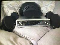 Kef 5.1 sound system Panasonic amplifier