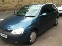51 plate corsa 1.2 16v t&t runs mint NO OFFERS RELIABLE RUN AROUND