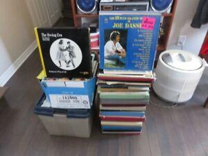 disques vinyles 33 tours 45 tours