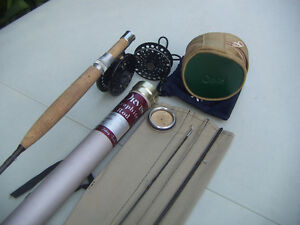 Vintage Orvis fly rod and reel Kawartha Lakes Peterborough Area image 5
