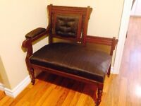 Antique Chair on Casters - Very Nice