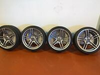 Bmw m3 r19 alloy wheels