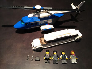 LEGO City 3222 Helicopter and Limousine