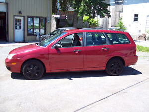 2005 Ford Focus Wagon - Etested