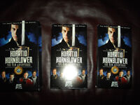 Horatio Hornblower all 8 films on 8 VHS tapes for Canada/US VCRs