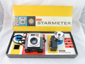 Vintage Kodak Brownie Starmeter Outfit Camera