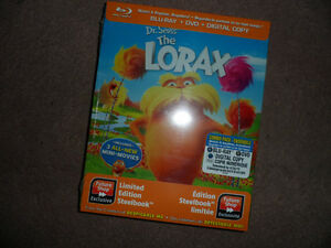 Dr. Seuss The Lorax Steel Tin Blu-ray/DVD collectible  (NEW!)
