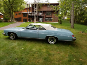 1975 BUICK CONVERTIBLE only 39055 miles on original 455!