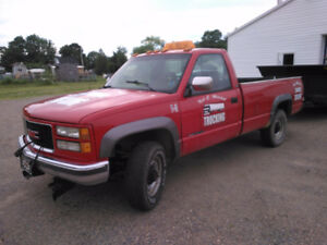 1994 GMC C/K 2500 Pickup Truck with Plow