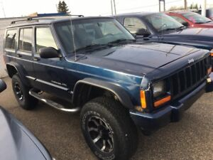 2000 JEEP CHEROKEE CLASSIC 4X4 ...LIFTED....low klms