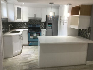 Beautiful newly renovated basement with two bedroom $1200