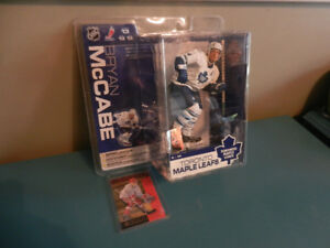 Mcfarlane NHL Bryan McCabe Toronto Maple Leafs Plus RC