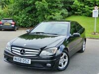 2008 Mercedes-Benz CLC CLC 200 CDI SE 3dr Automatic *** FULL MOT - FREE DELIVERY