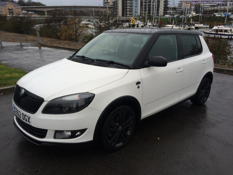 2012 skoda fabia monte carlo tdi cr hatchback diesel in penarth vale of glamorgan gumtree. Black Bedroom Furniture Sets. Home Design Ideas