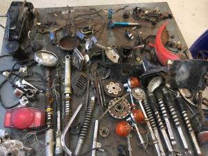 Huge lot of Honda CT70 parts