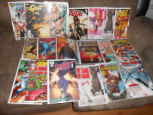 Bunch Of Comics Mostly #1's Swap for 1/64 Hot Wheels, Matchbox ?