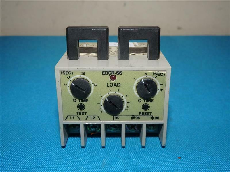 Samwha EOCR SS-05 Electronic Overload Relay