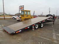 2009 CornPro tilting flatbed trailer