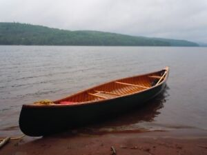 Vintage Early to Mid 1950's 15 ft. Canoe For Sale