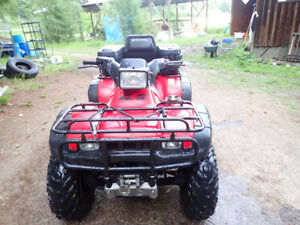 Honda Foreman ATV with extra tires