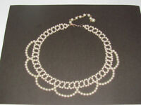 PEARL CHOKER NECKLACE - GREAT FOR A WEDDING DRESS!!