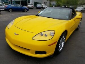 2007 Chevrolet Corvette 6 Speed / Targa Top / Leather