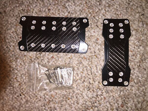 Carbon Fibre Pedal Covers