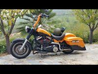 At Hurricane Custom Harley Davidson Fat Boy Bagger 1584cc VGC 2011
