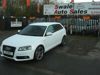 2011 AUDI A3 S-LINE 2.0TDI BLACK EDITION, ONLY 60884 MILES, FULL SERVICE HISTORY