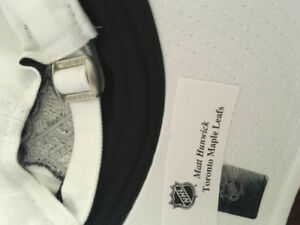 01f77a67fab Matt Hunwick autographed NHL hat in great condition