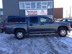 GMC CANYON CREW CAB 4X4, NICE SHAPE  !! EASY FINANCE !!