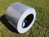 Dryer Drum for Fire Pit