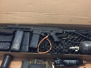 Tippmann X7 Phenom Mag Feed w tons of accessories