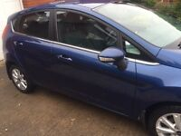 Ford Fiesta 1.25 Zetec 5dr 59 plate Blue