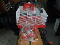 Hampster cage w/accessories