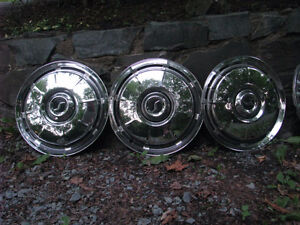 1960's Hubcaps, Studebaker, Ford, Chevrolet, Plymouth