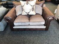 Brand new next 3 STR & 2 STR fabric sofa