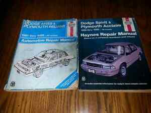 2 HAYNES AUTO REPAIR MANUALS $5.00 FOR BOTH Windsor Region Ontario image 1