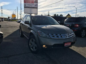 2004 Nissan Murano SL, Clean Carproof, 3 Years Warranty