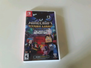 Jeu Minecraft story mode nintendo switch