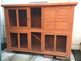 Rabbit hutch - two tier